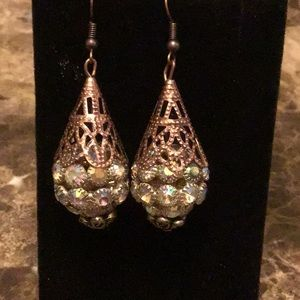 Edwardian,boho,antique,downtown abbey earrings